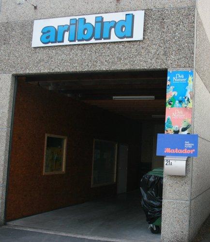 Klik voor een vergroting van Ingang Aribird