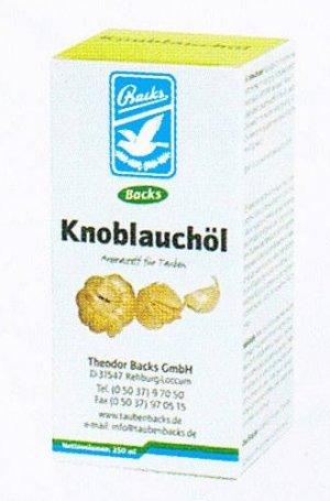 Backs Knoflookolie