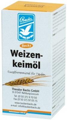 L'huile de germe de blé Backs.